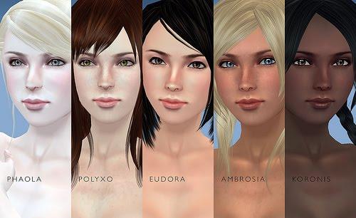 A cor da pele muda conforme a etnia humana